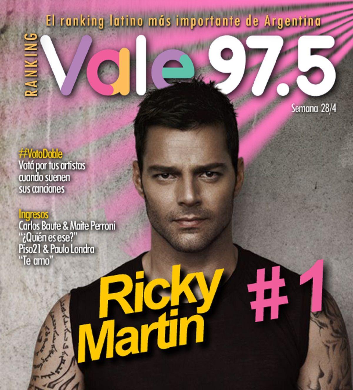 Ricky Martin, el rey del Ranking Vale