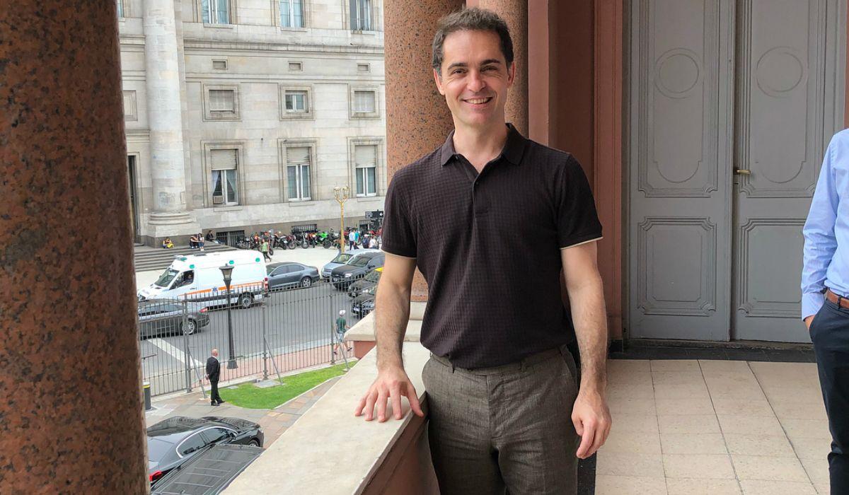 Pedro Alonso se mostró feliz con su visita a la Casa Rosada