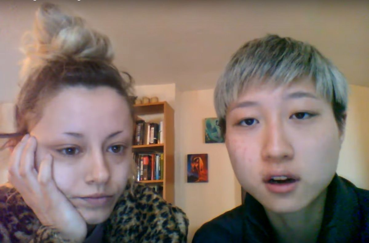 Andi y Etta Ng en el video que publicaron juntas