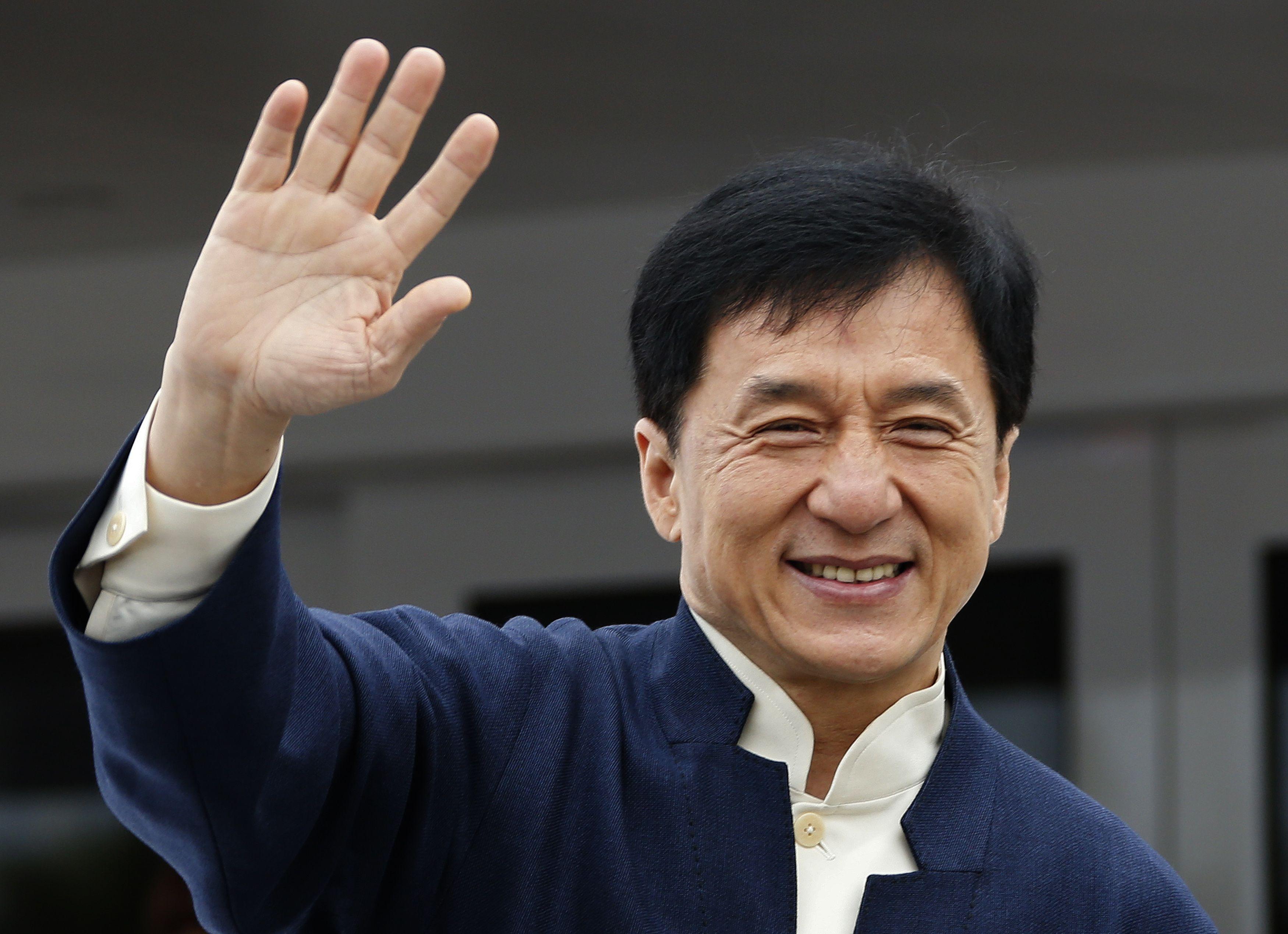 El famoso actor Jackie Chan