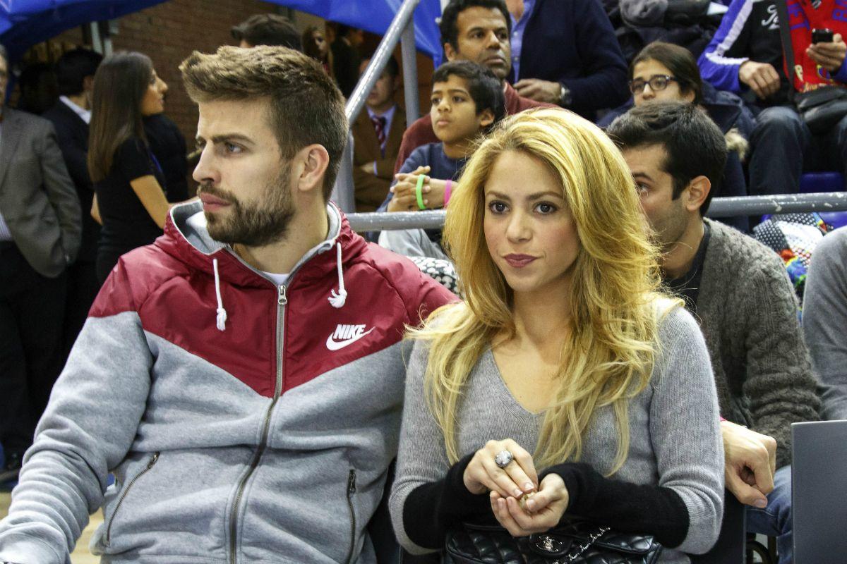 Piqué y Shakira se tomarán un tiempo
