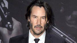 Keanu Reeves, con su clásica apariencia