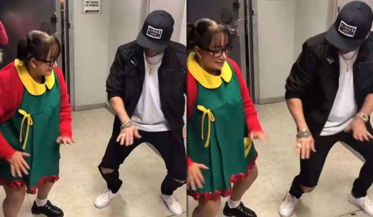La Chilindrina se animó al reggaetón