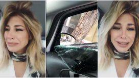 Los videos de Stefy Xipolitakis tras ser asaltada en su auto