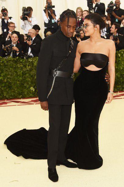 Trasvis Scott y Kylie Jenner. <br>