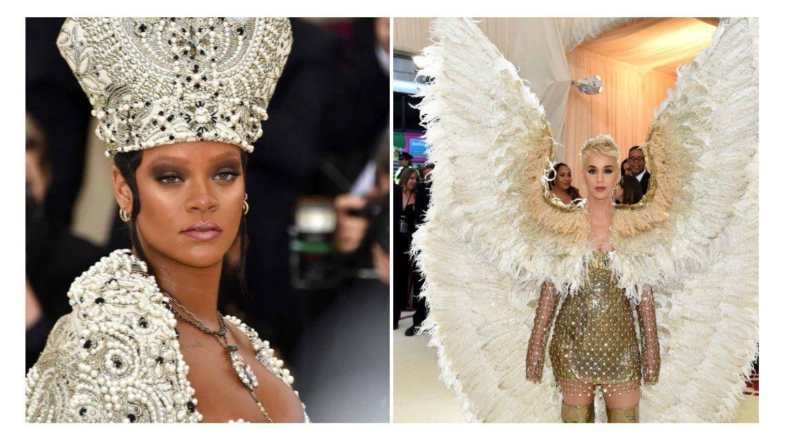Los looks de la Met Gala 2018: Rihanna y Katy Perry, las más excéntricas