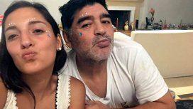 La divertida foto de Jana y Diego Maradona