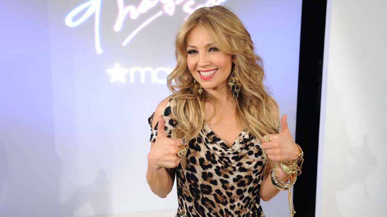 Thalía se cambió el look