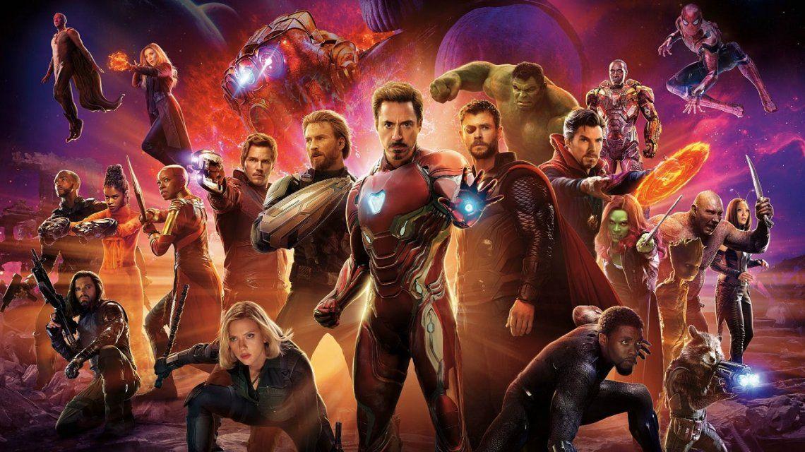 El tatuaje de los protagonistas de Avengers: Infinity War