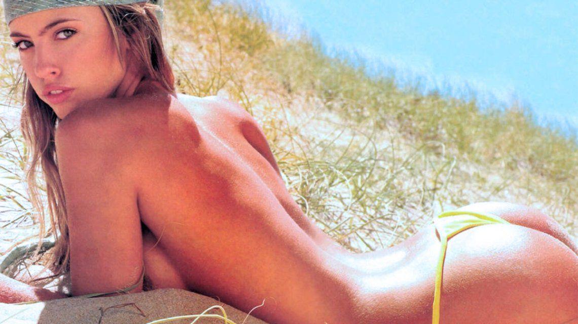 La foto retro de Rocío Guirao Díaz, completamente desnuda