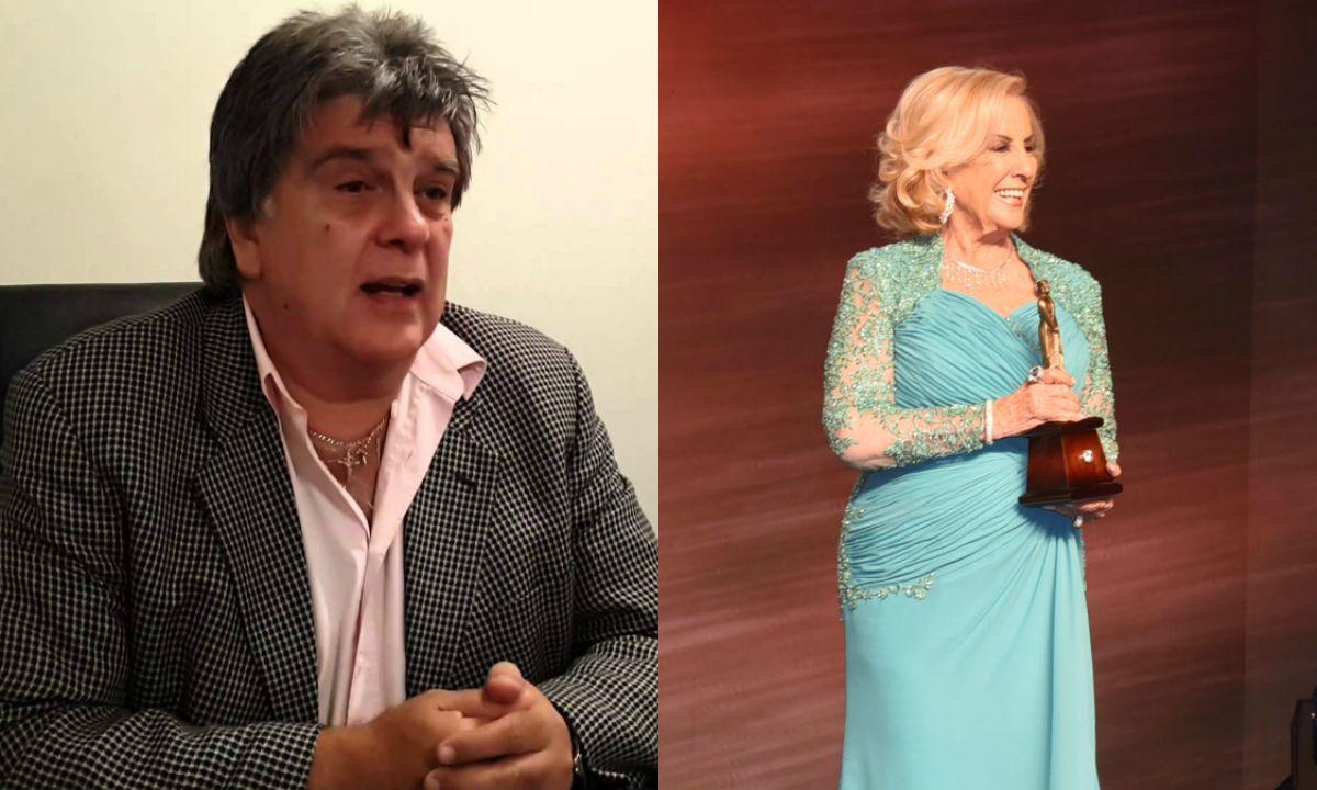 Luis Ventura explicó por qué sacó a Mirtha Legrand de los Martín Fierro