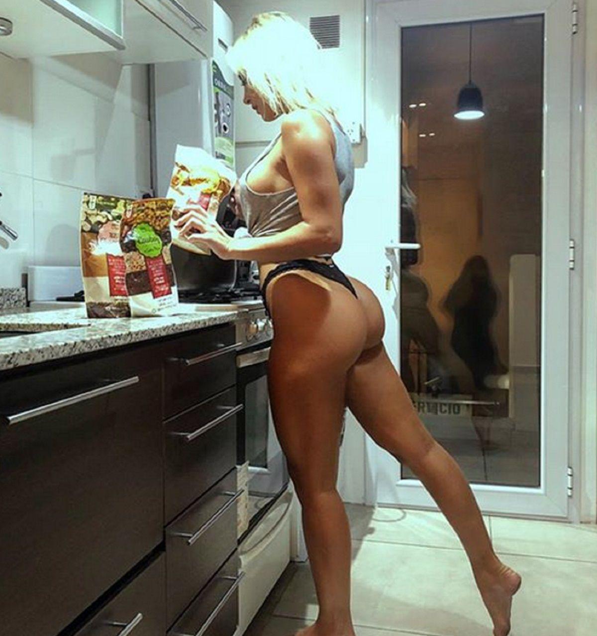 Annalisa Santi asegura que Sol Pérez le copió las fotos hot en la cocina