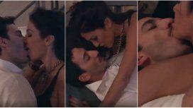 Silvina Escudero reapareció en TV con una escena caliente junto a Juan Minujín