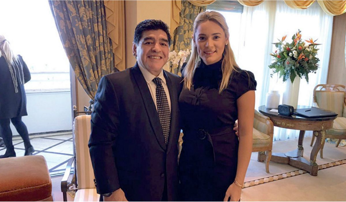 Rocío Oliva deachavó a Diego