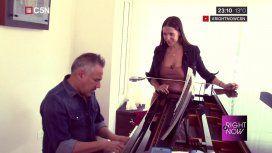 Alejandro Lerner y Julieta Camaño