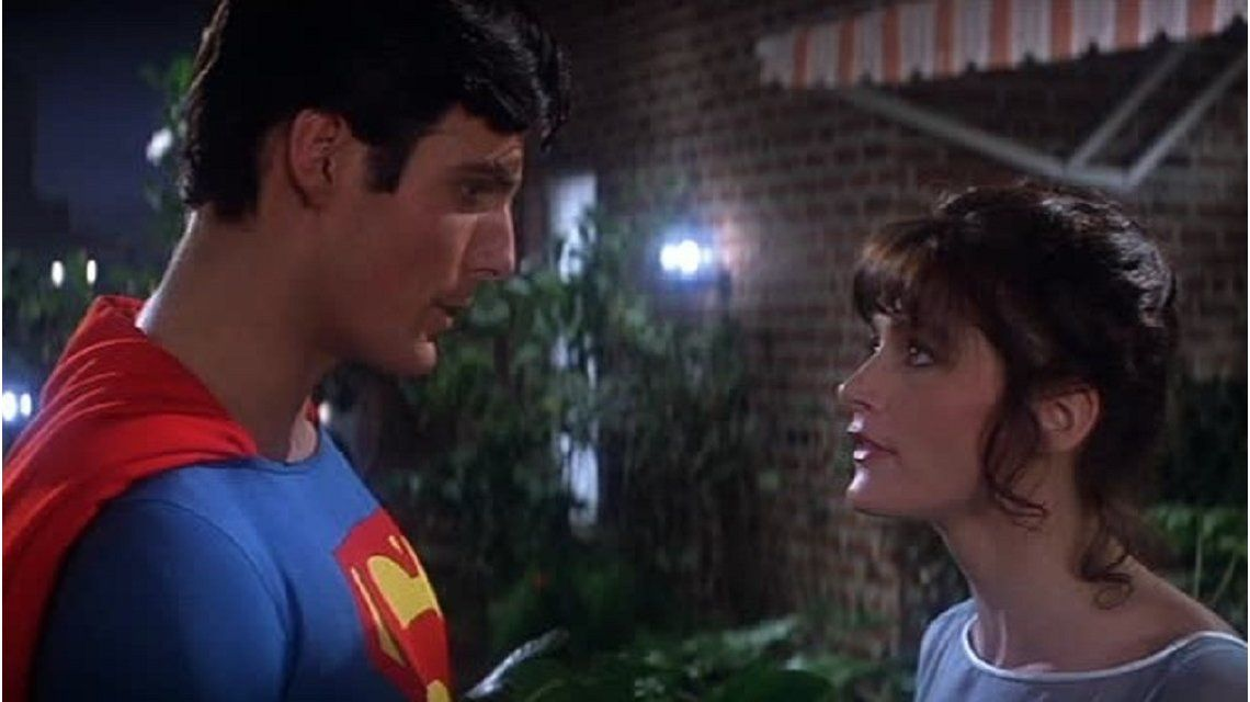 Margot Kidder en Superman - Crédito: IMDB