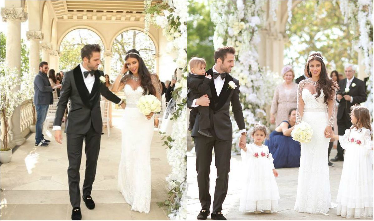 Cesc Fàbregas y Daniella Semaan ya son marido y mujer