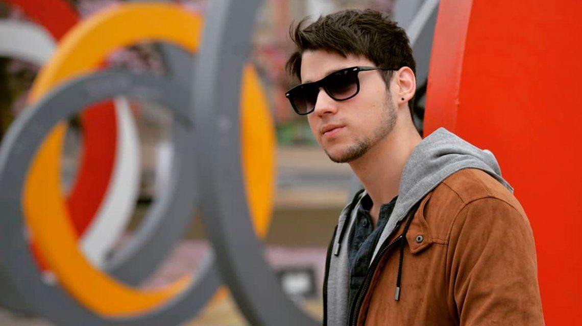 Julián Volpato tiene 21 años y lejos de ser el hijo de demostró todo su talento en una charla exclusiva