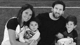 ¡Mamá babosa! Antonela publicó la foto más tierna de Mateo Messi