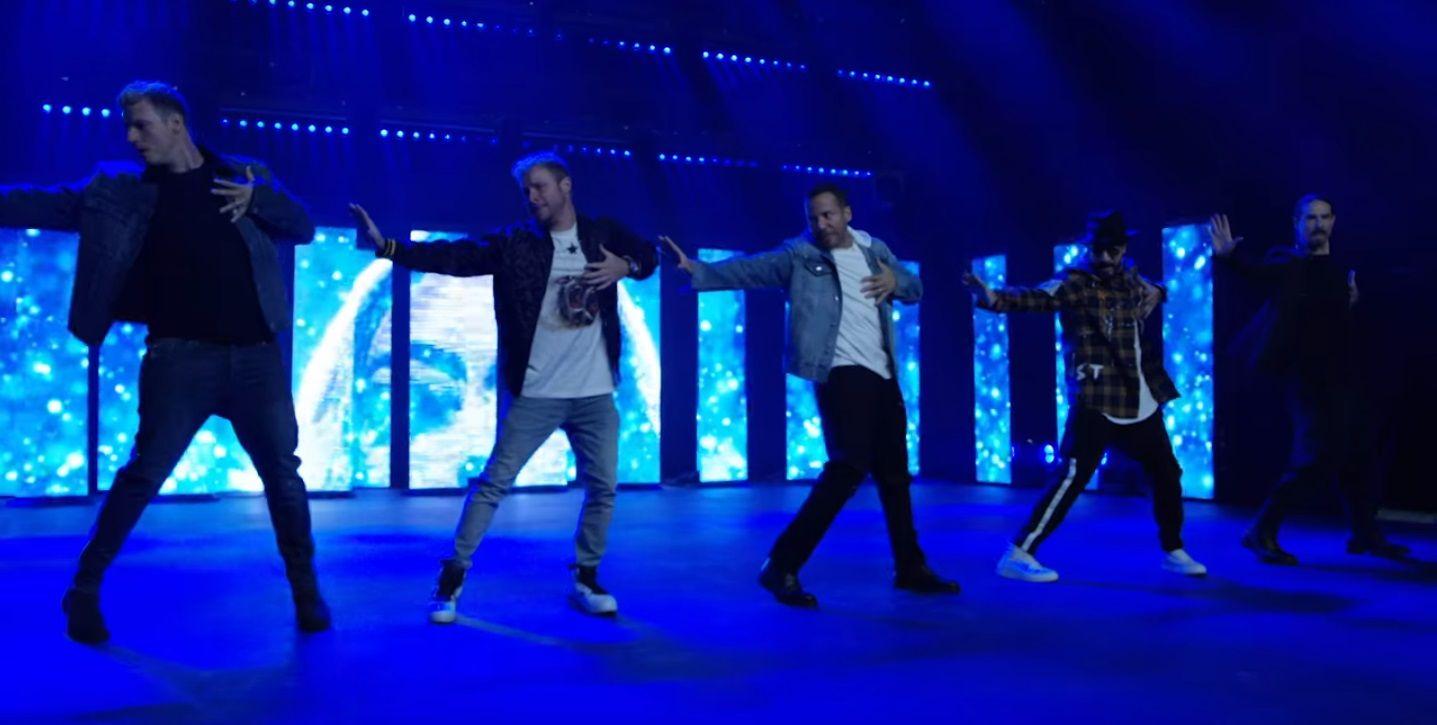 Volvieron los Backstreet Boys