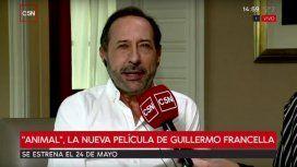 Guillermo Francella, en diálogo con C5N