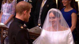 Se casaron Meghan Markle y el príncipe Harry