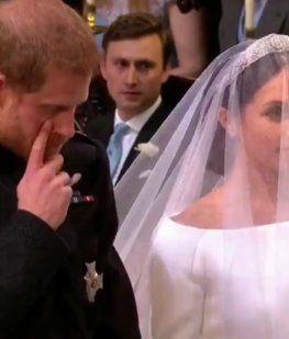 El príncipe Harry no pudo contener la emoción