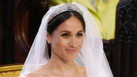 Boda real: el vestido de novia de Meghan Markle