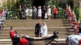 En vivo: la boda real del príncipe Harry y Meghan Markle