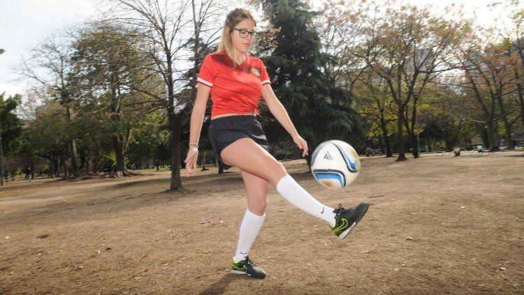 Nati Jota, criticada por cubrir el Mundial Rusia 2018