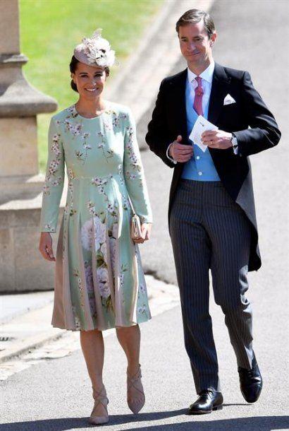 Pippa Middleton y su esposo James Matthews <br>