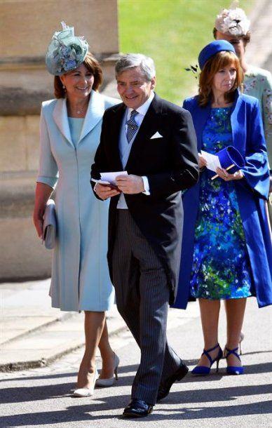 Los padres de la Duquesa de Cambridge, Carol Middleton y Michael Francis Middleton