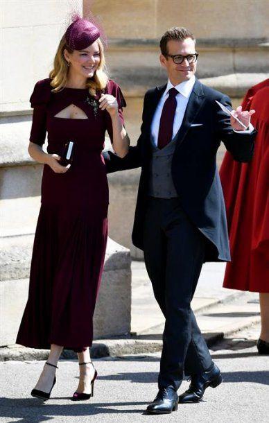 Actor de Suits, Gabriel Macht y su esposa Jacinda Barrett