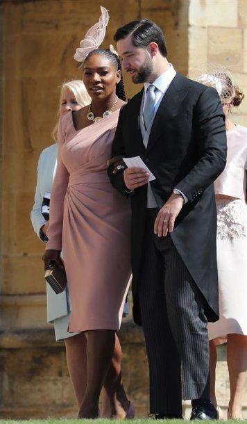 Serena Williams y su esposo Alexis Ohanian