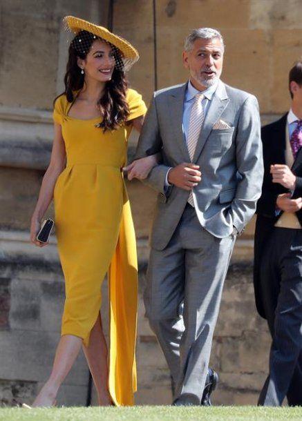 George Clooney y su mujer Amal Cloon