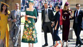 Todos los look de los invitados a la boda del año