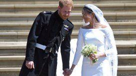 El príncipe Harry y Meghan Markle, recién casados
