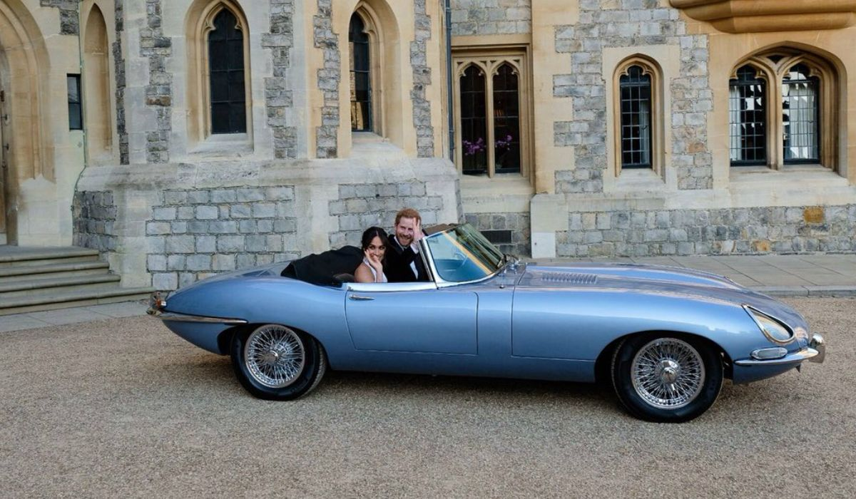 Meghan y Harry salieron del Castillo de Windsor