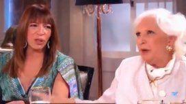Tensión entre Tagliani y Rinaldi en el programa de Mirtha Legrand