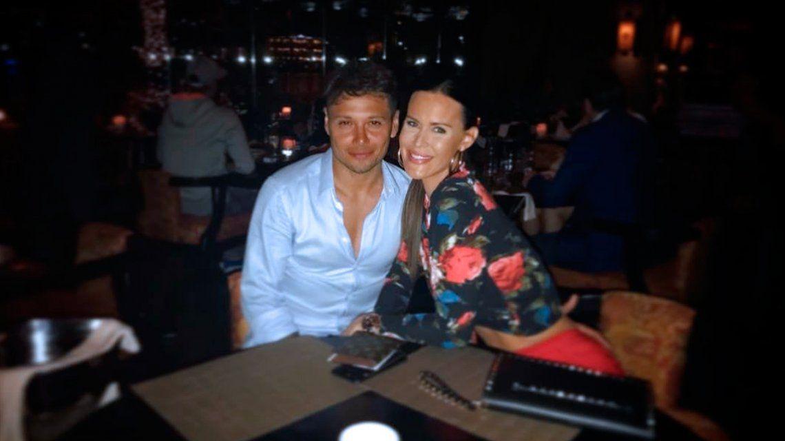 Natalie negó una crisis con Mauro Zárate