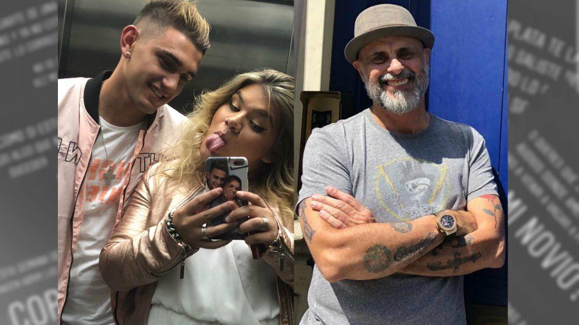 More Rial acusó a su papá de extorsionar a su novio