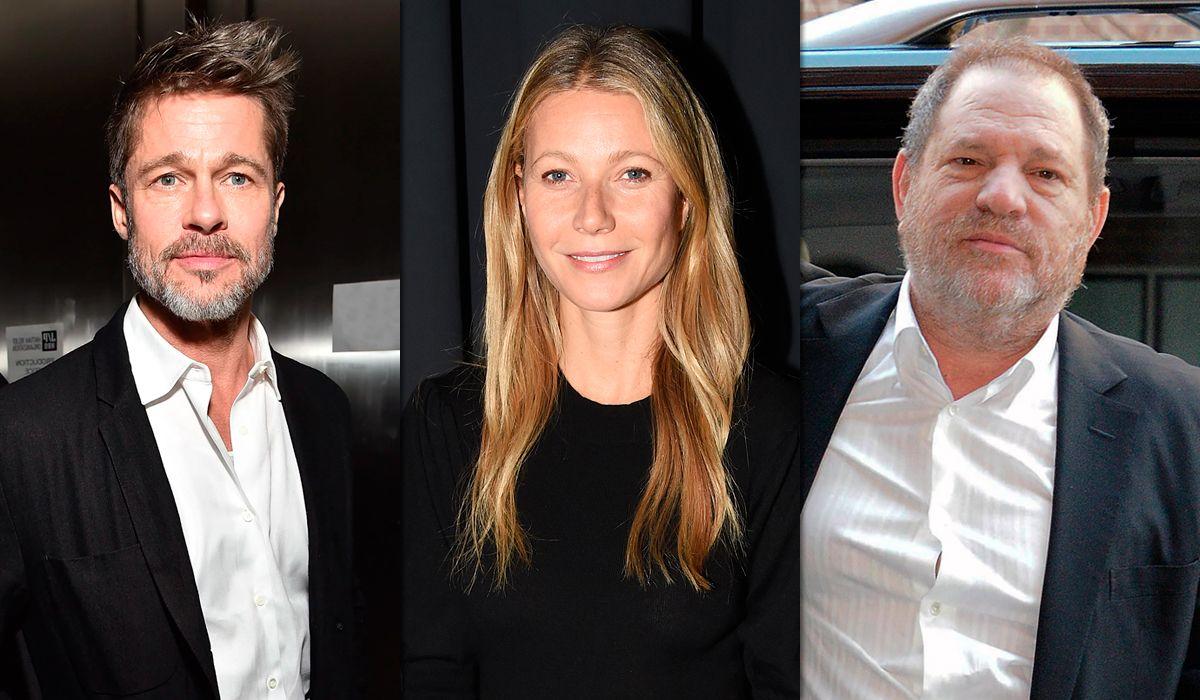 Si la volvés a incomodar te mato: la defensa de Brad Pitt a Paltrow contra el acoso de Weinstein
