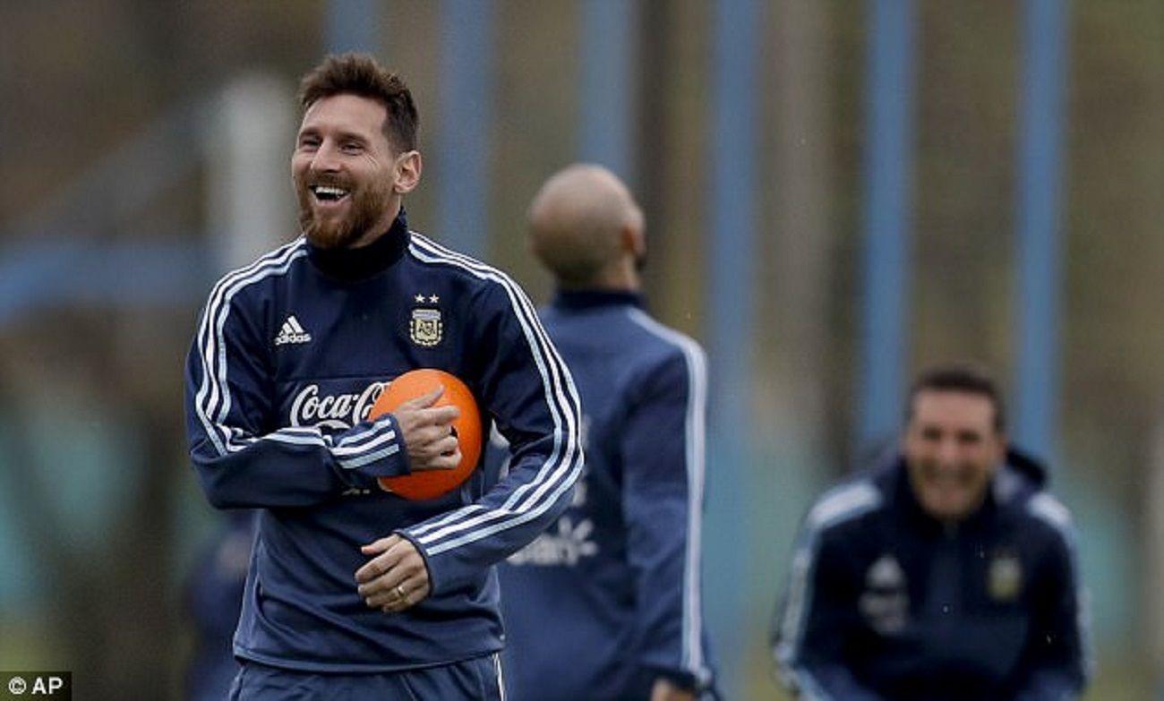 Lionel Messi salió a pasear con su familia en Buenos Aires