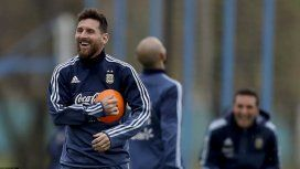 Lionel Messi salió a pasear con su familia en Buenos Aires, luego del entrenamiento.