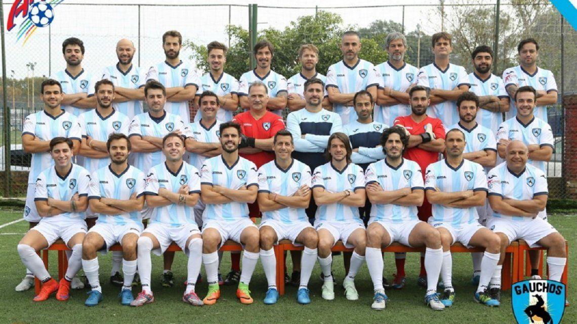 Cómo es el equipo de famosos argentinos que juega un Mundial paralelo
