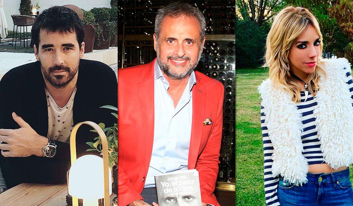 Jorge Rial apuntó contra Nacho Viale y Tamara Pettinato