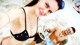 Mauro y Natalie de vacaciones en Miami