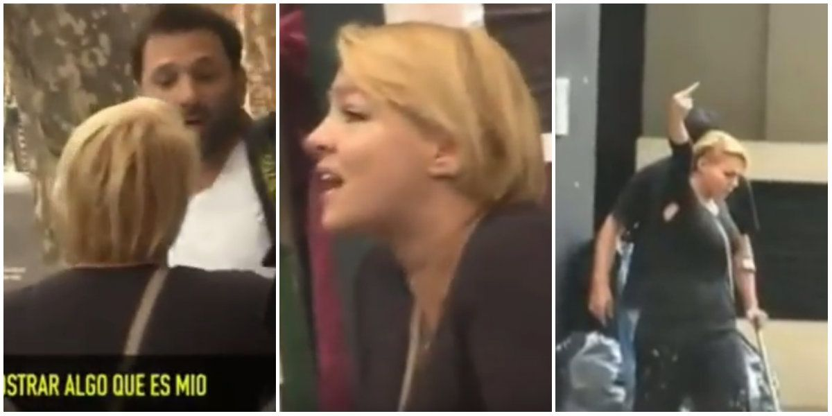 Escándalo en plena calle: Tamara Paganini agredió a un fotógrafo