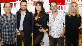 Matías Martin, Gonzalo Heredia, Laura Fidalgo, Luciano Cáceres y Peter Capusotto, parte del elenco