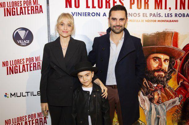 <div><p>Brenda Gandini, Gonzalo Heredia y su hijo Eloy</p></div><div></div><br>